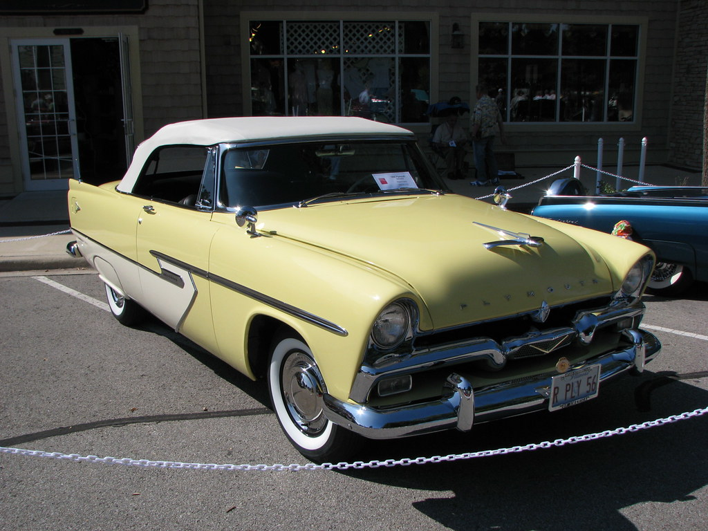 1956 plymouth belvedere convertible i actually went to for 1956 plymouth belvedere 4 door