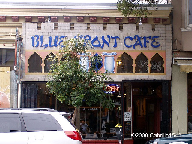 Blue Front Cafe Haight Street