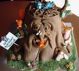 Enchanted Forest Cake Tahlia S Birthday Cake She Took To