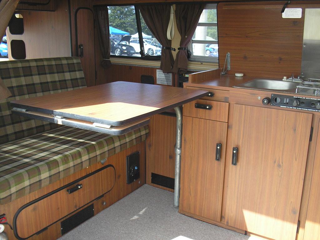 1979 Vw Type 2 Westfalia Camper Interior Living Area