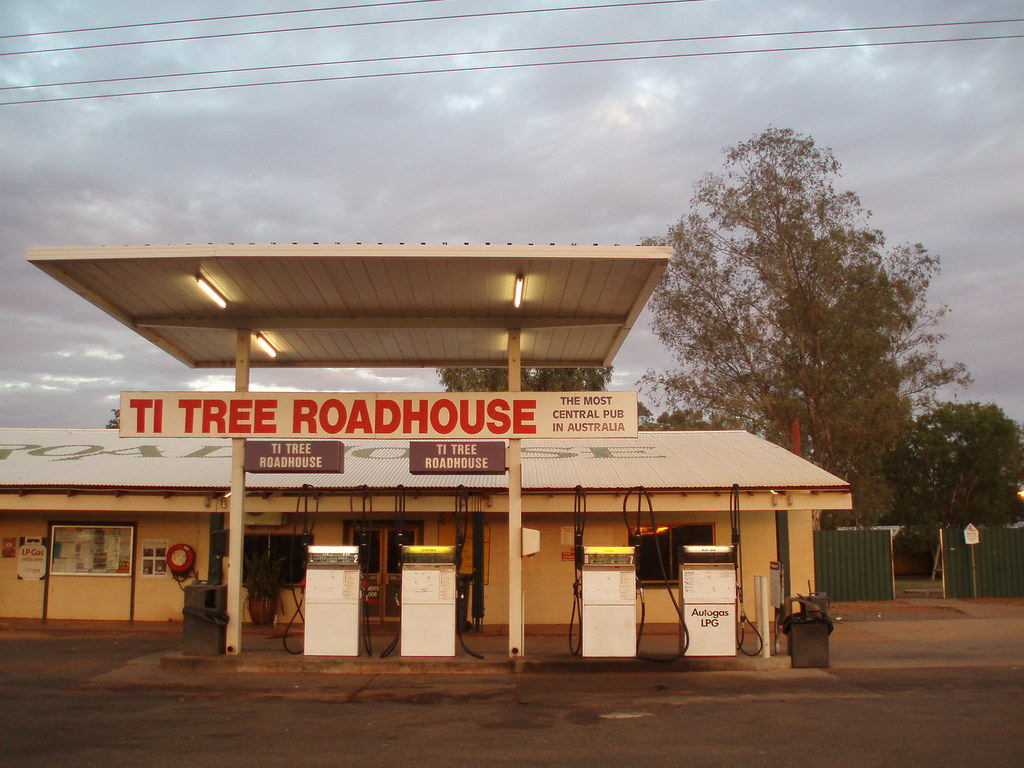 Ti Tree Roadhouse Australias Most Central Pub We