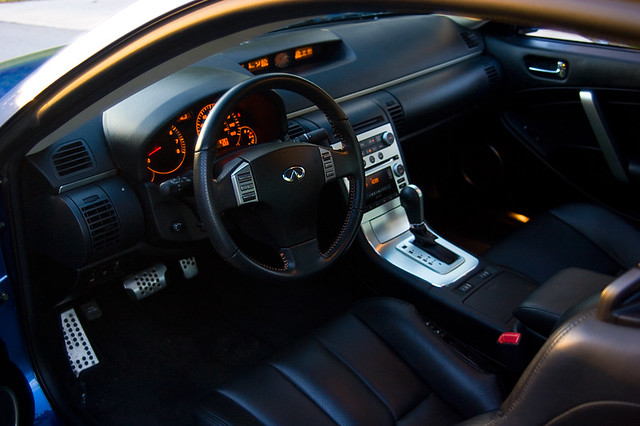 New Infiniti G35 Coupe >> 2006 Infiniti G35 Coupe Interior | Florida Car Forum Automot… | Flickr
