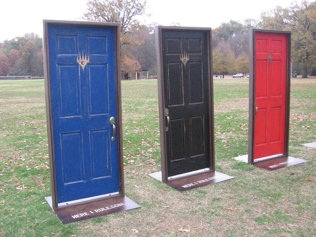 Door Art Installation : Here i rule com art installation overton park