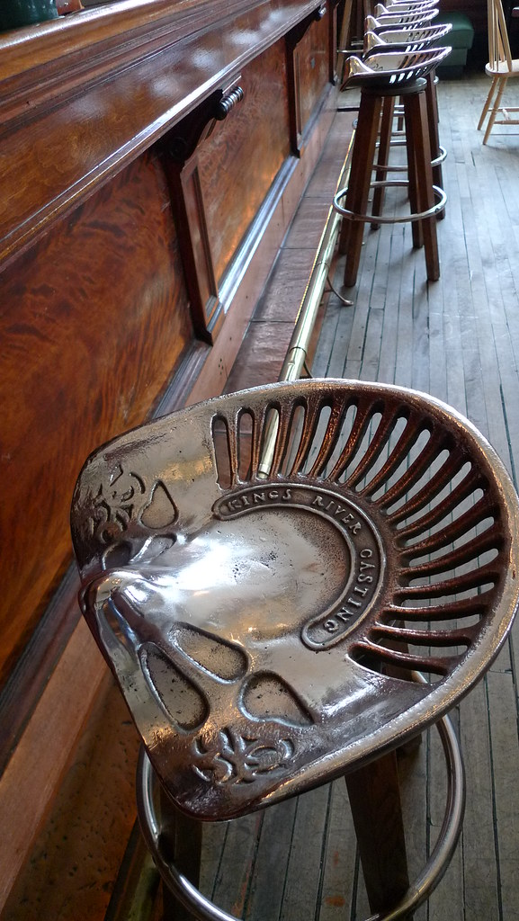 Comfy Cast Iron Tractor Seat Stools Thirteen Of Clubs