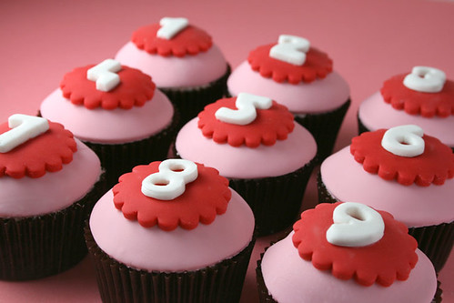 Number Cupcakes | by Bakerella