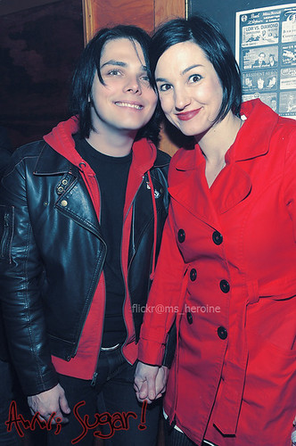 Gerard Way & Lyn-z Ballato // Mr. & Ms. Way // Bandit Lee ...