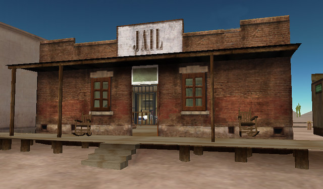 Western Jail - Second Life (by Alberto Forero) | This is ...