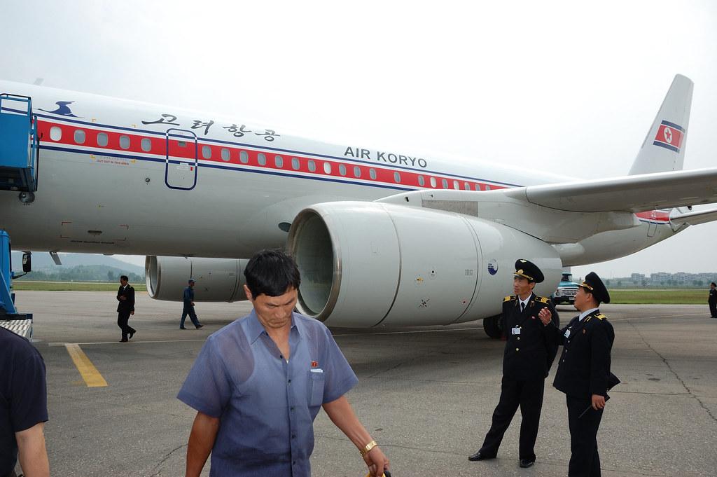 Air Koryo's New Tu-204. | At Sunan Airport, North Korea. | Flickr