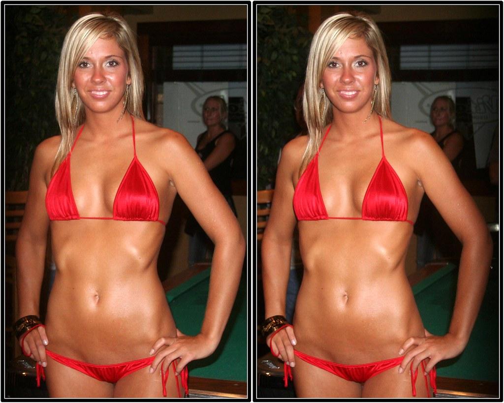 muscle Miss bikini contest aloha