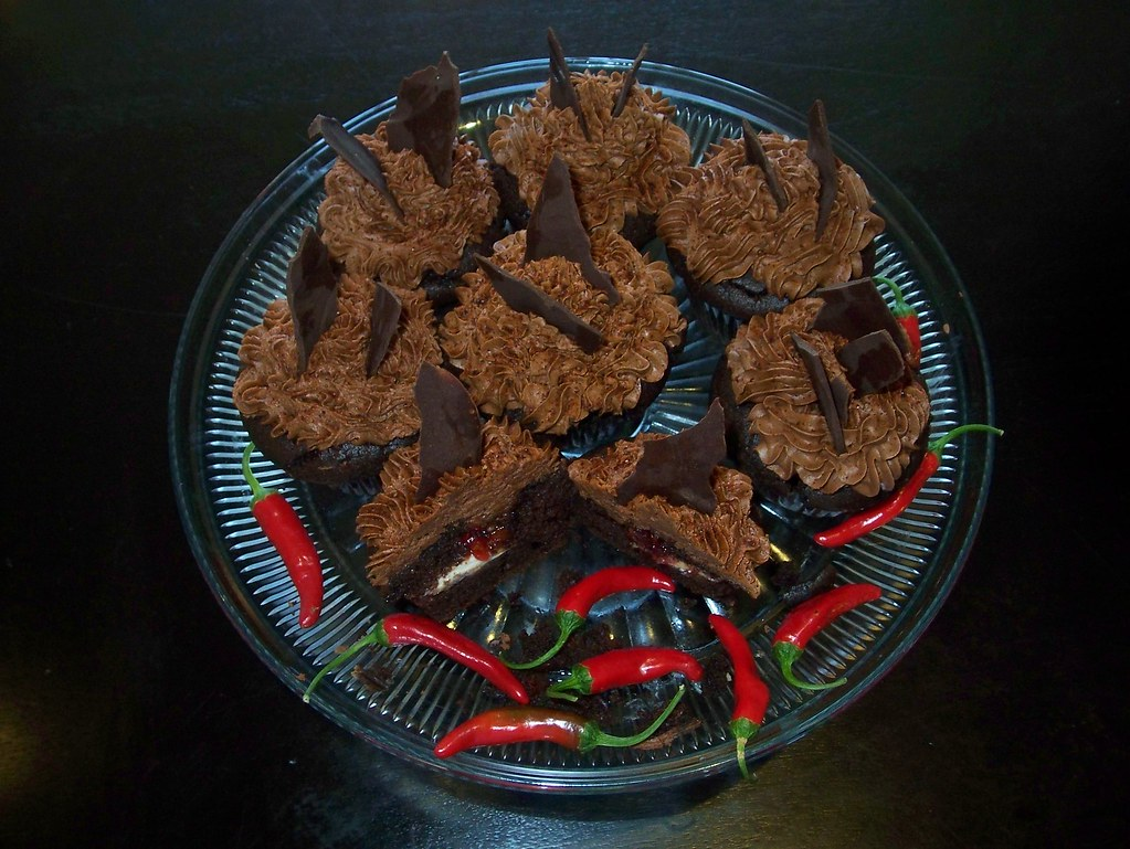 Chocolate Cake Chili Powder