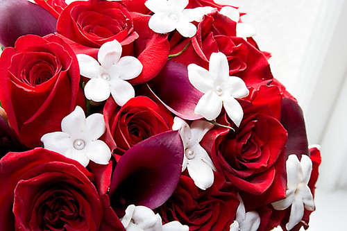 red roses and calla lilies bouquet bridal bouquet red ro flickr. Black Bedroom Furniture Sets. Home Design Ideas