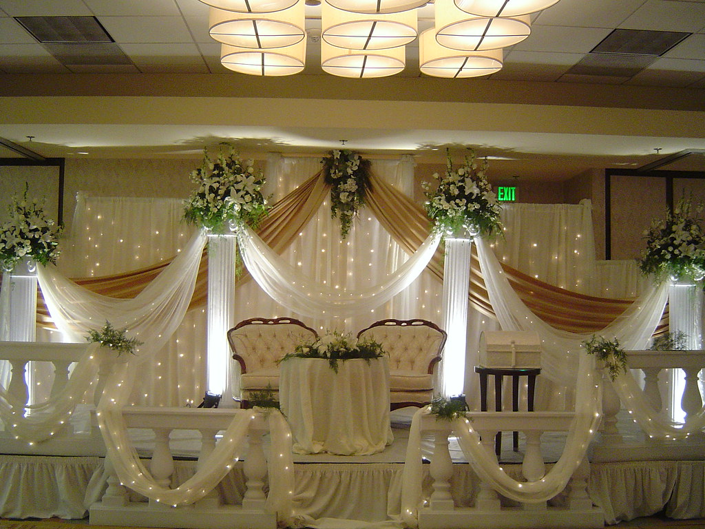 Arabian wedding decoration wedding stage decoration flickr for Arab wedding stage decoration