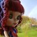 Multicoloured Bonnet