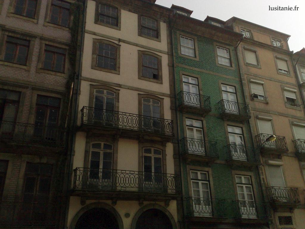 Immeubles classiques de Porto
