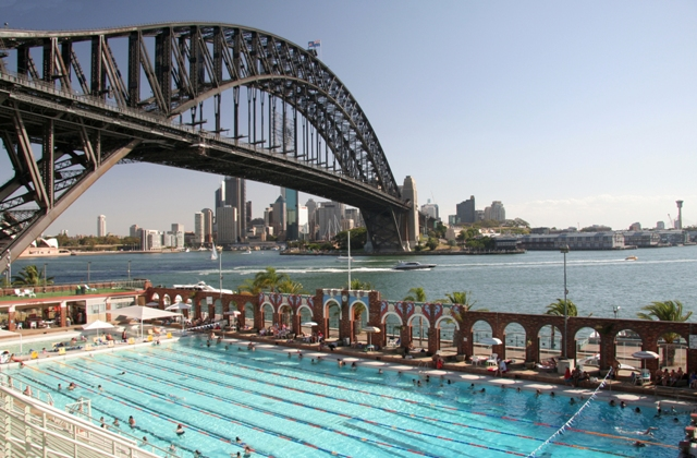 Sydney Harbour North Olympic Swimming Pool Sydney Harbour Flickr