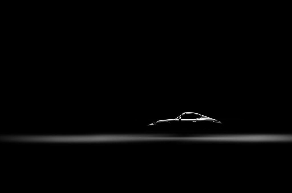 Porsche Cayman S Playing Around With Flashlight Nikon