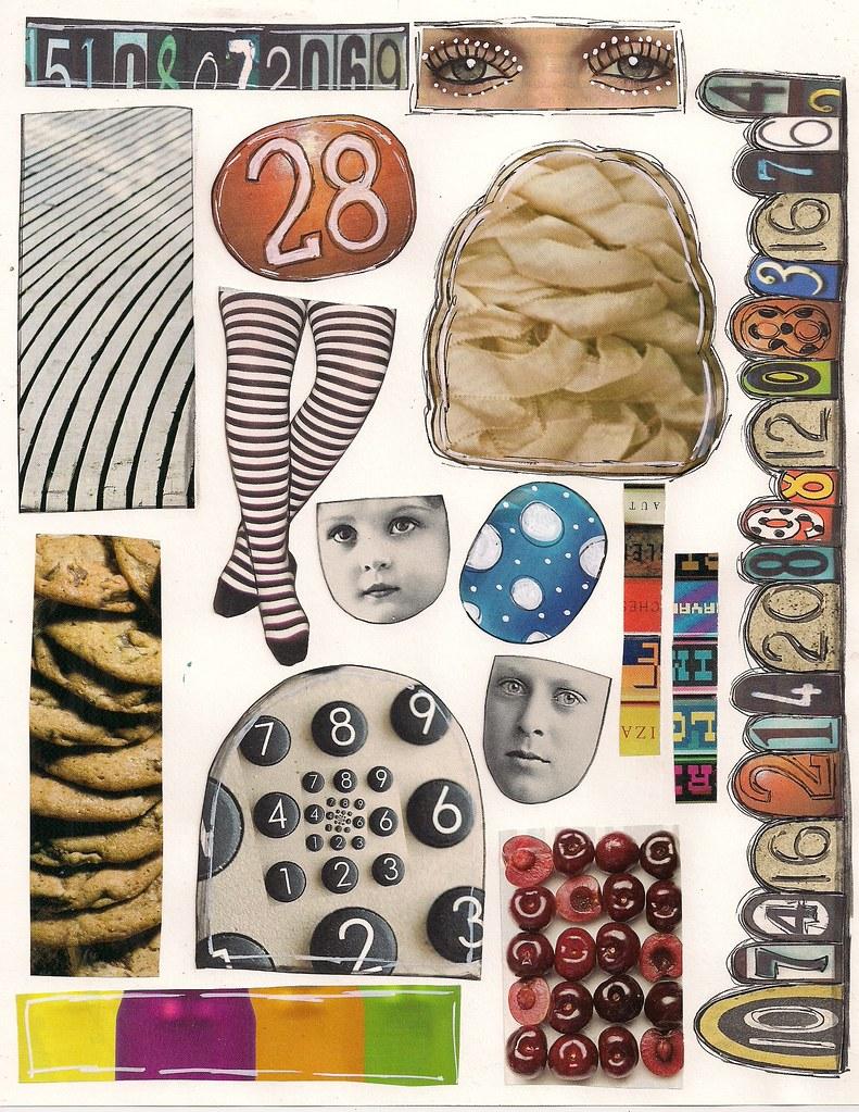 zetti collage sheet