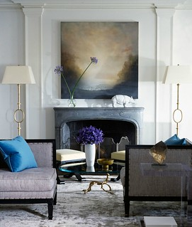 Thibault Jeanson / Nate Berkus {eclectic living room} | by recent settlers
