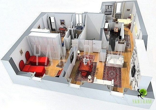 Virtual home tours floor plans house design plans for Floor plan virtual tour