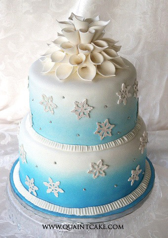 Winter Themed Sweet  Cakes