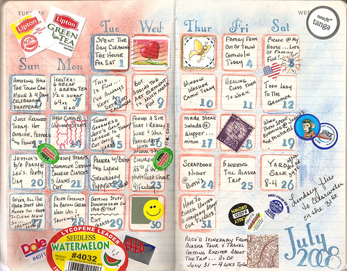 July calendar | by Nestled Nest