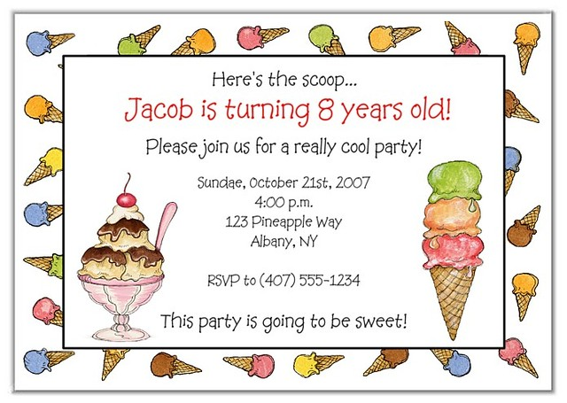Ice Cream Party Crafts