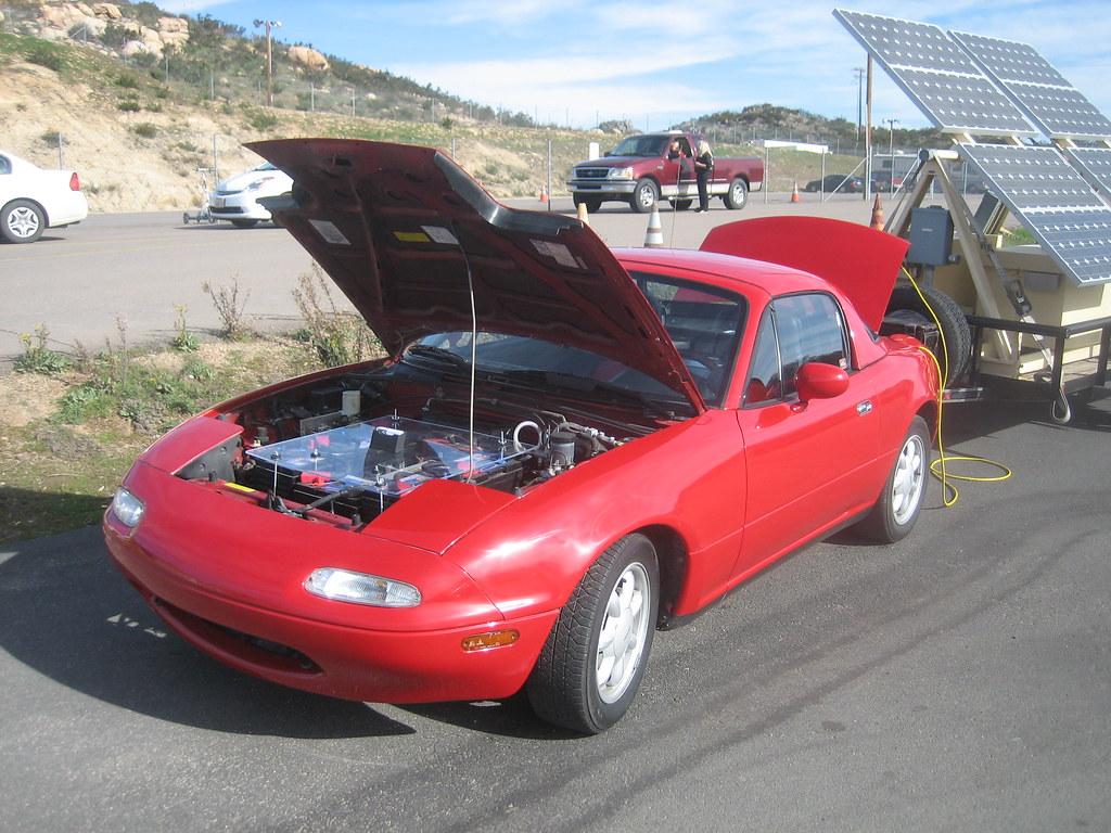 Miata Electric Drag Car