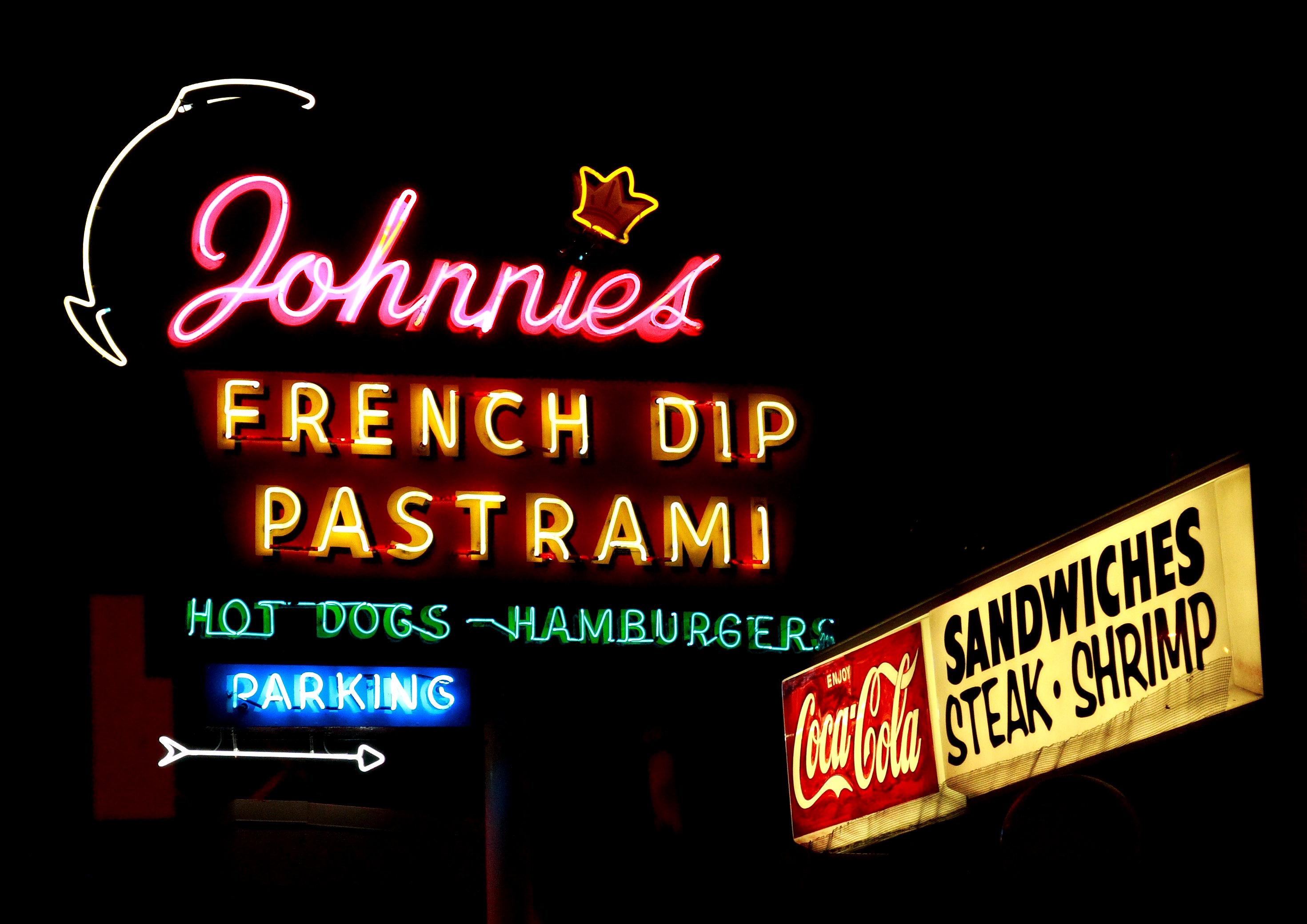 Johnnie's Pastrami - 4017 South Sepulveda Boulevard, Culver City, California U.S.A. - April 12, 2008