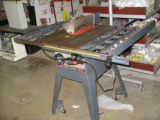 Craftsman 10 Table Saw 200 44 W Table 200 Northern Fox Valley Habitat For Humanity