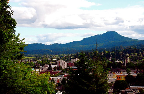 Eugene Oregon > August View | by Don Hankins