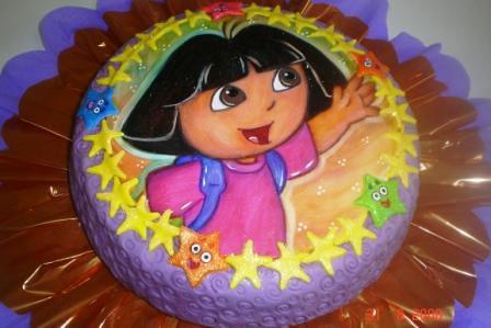 Tortas de Dora la exploladora - Imagui