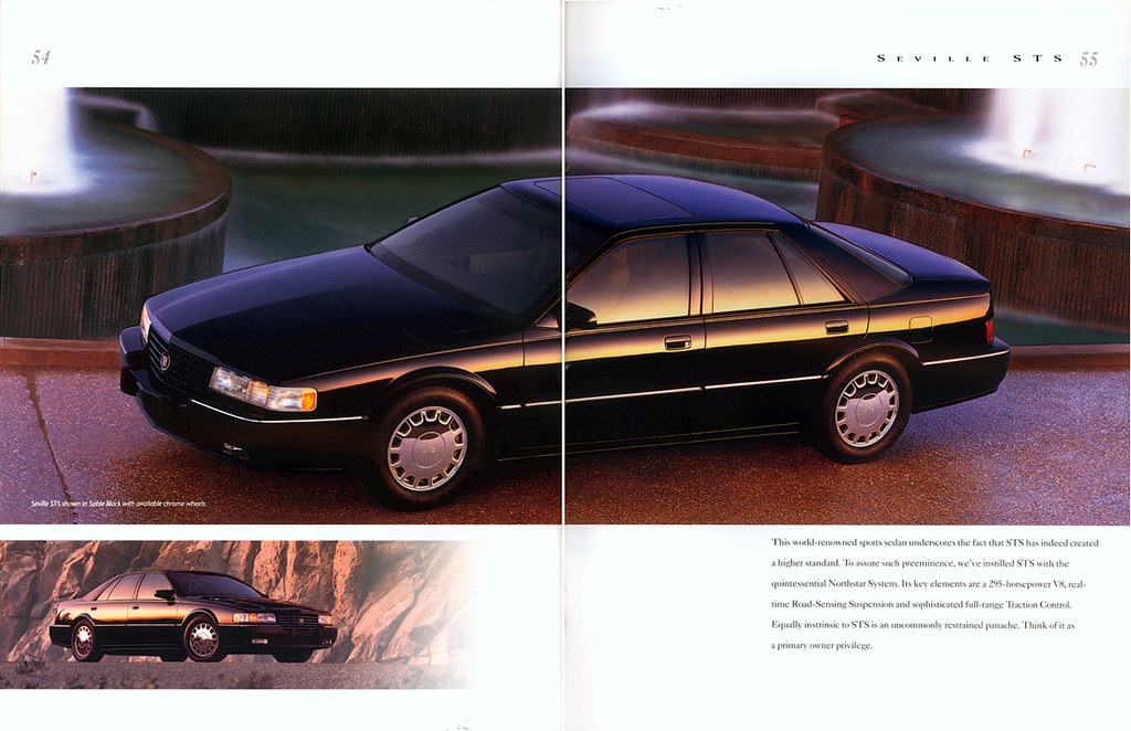 1994 Cadillac Seville Sts See The Rest Of The Brochure