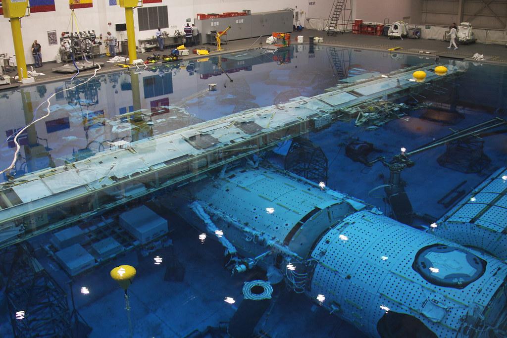 International Space Station Mock up - NASA Neutral Buoyanc ...