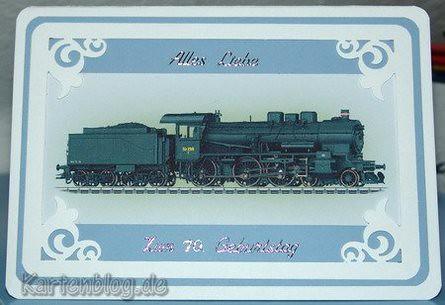 Geburtstagskarte zum 70   Stempelwiese   Flickr