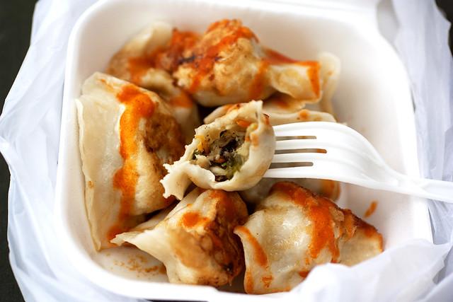 vegetable dumplings @ prosperity