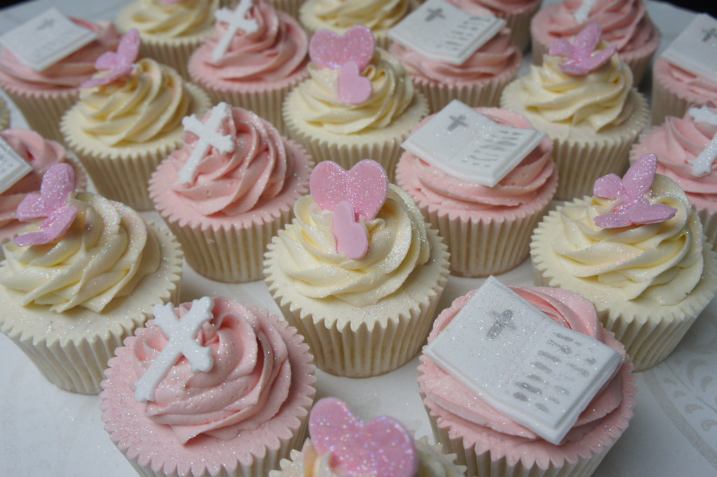 cup cakes for wedding 1st communion cupcakes burnham flickr 3224