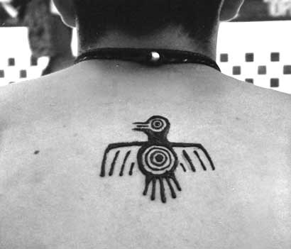 Henna: Aztec Bird | Art & photo by Sherrie Thai of Shaire ...