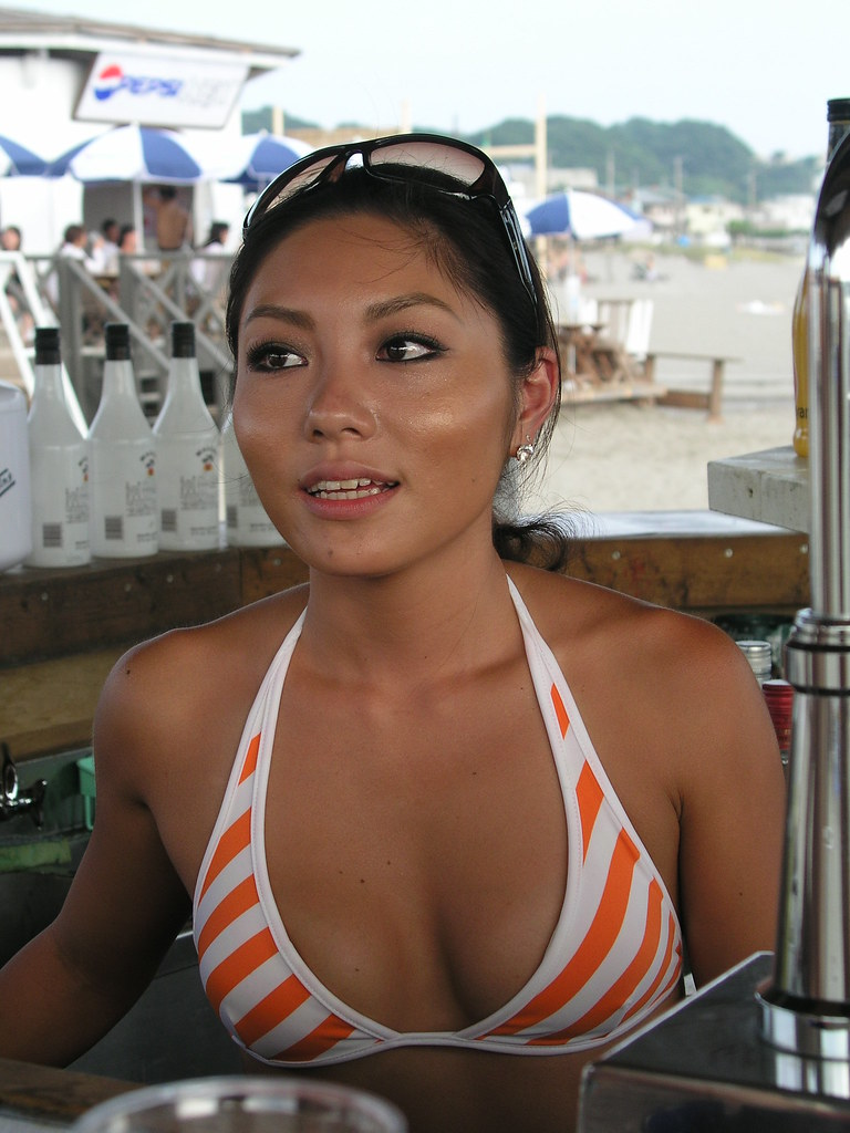 My Favorite Bar Tender At The 鎌倉 Beach Bar Jedi Rc