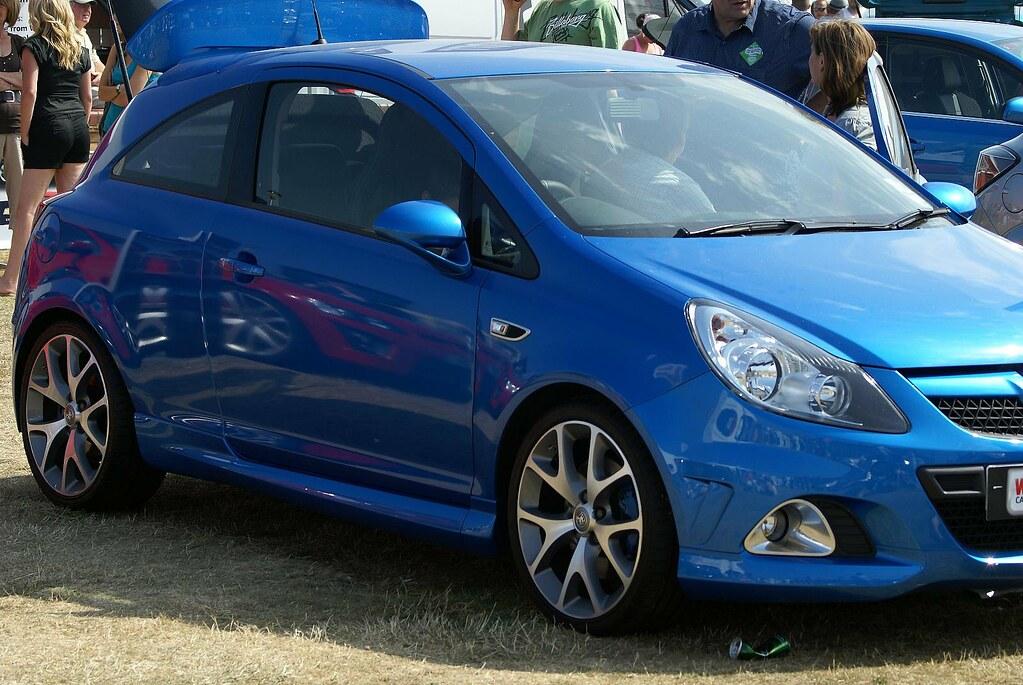 Air Blue Vauxhall Corsa Paint Spray