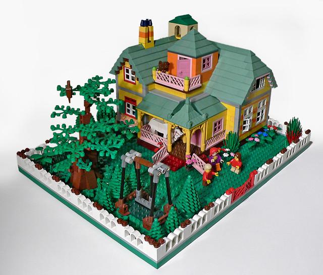 29 villa kakelbont het huis van pippi langkous met paard. Black Bedroom Furniture Sets. Home Design Ideas