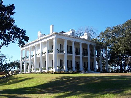 Dunleith Plantation Natchez Mississippi Encircled By
