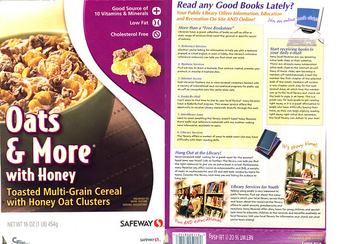 Libraries on my Cereal! | by Kables