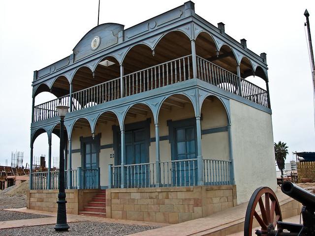 La casa de la respuesta museo de sitio fortaleza real - La case de l oncle paul ...