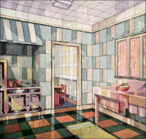 1929 Vitrolite Kitchen - Deco! | by American Vintage Home