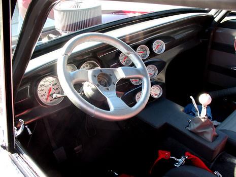 1965 Pro Street Nova Fabricated Dash This 1965 Nova Has
