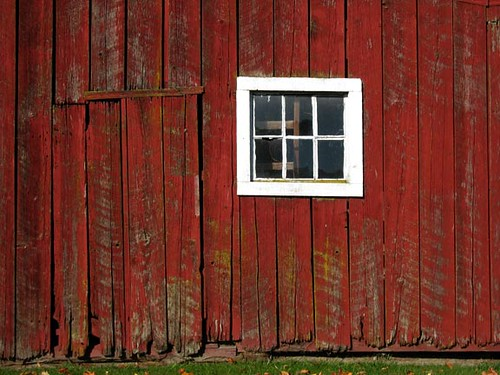 Red Barn Wood brilliant red barn wood of old barnwood with peeling paint on the