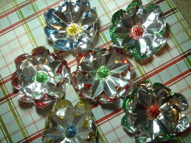 Vintage Christmas Light Reflectors | Flickr - Photo Sharing!