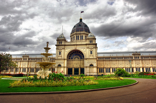 3d Exhibition Melbourne : Royal exhibition building melbourne i the