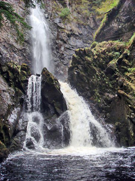 Waterfall Glen Affric Highlands Scotland David Alexander