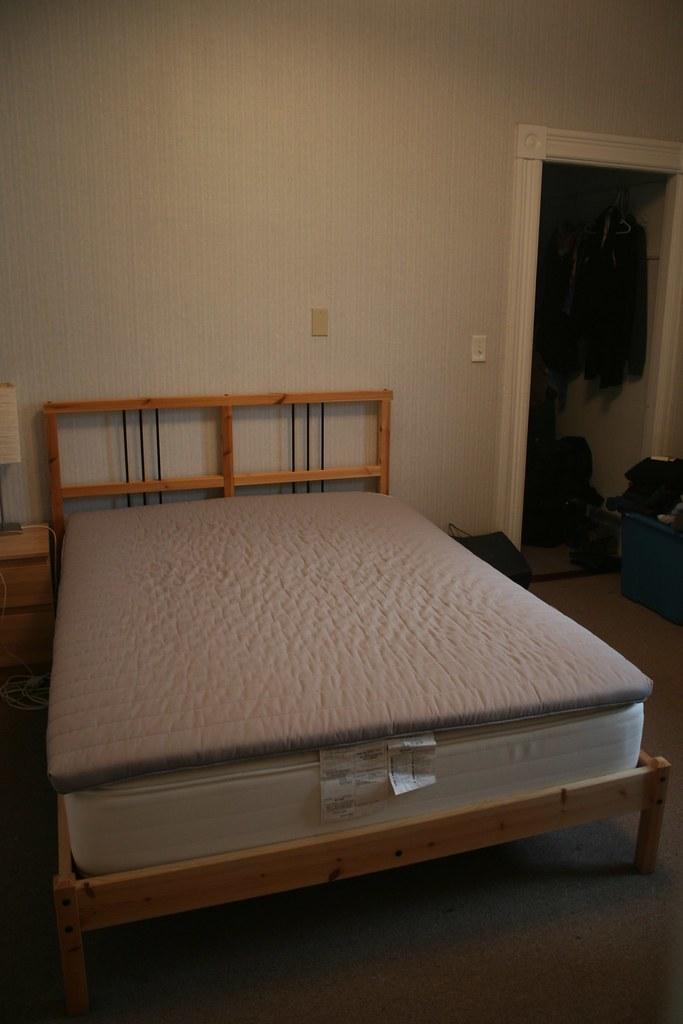 Gone Full Size Bed Ikea Sultan Hasselback Mattress Bed